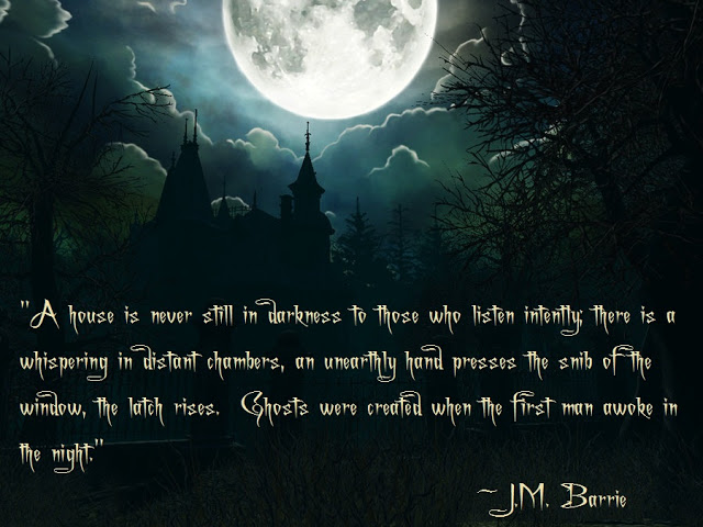 Haunting Quotes: Halloween Haunted House Quotes. QuotesGram