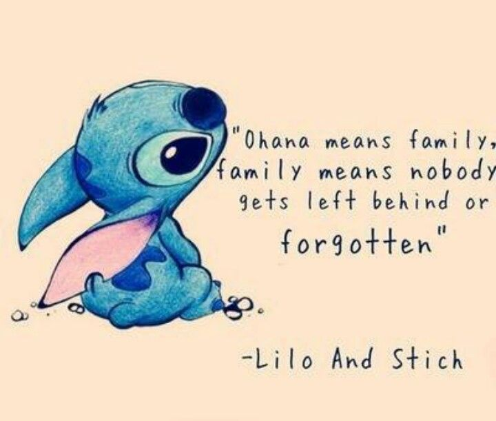 Cute Lilo And Stitch Quotes Quotesgram