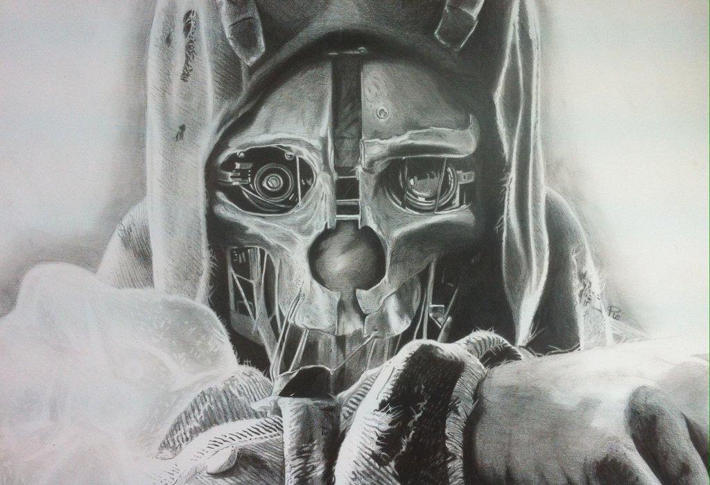 Картинки маски корво аттано