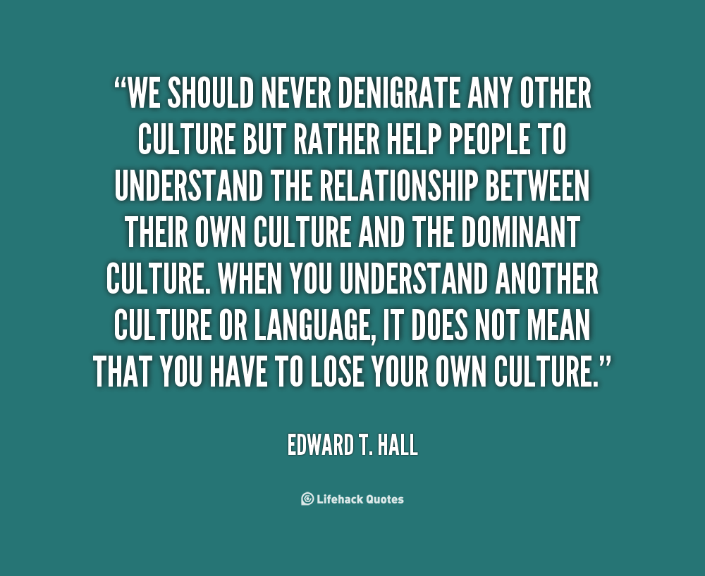 understanding culture For the purposes of the intercultural studies project, culture is defined as the shared patterns of behaviors and interactions, cognitive constructs, and affective.