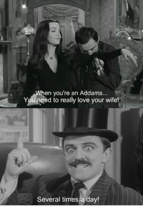 addams family morticia and gomez relationship test