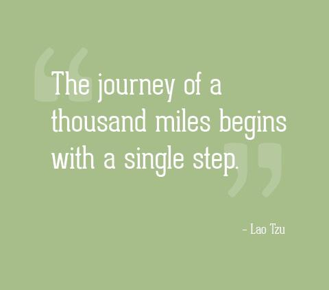 a journey of thousand miles begins with a single step essay help