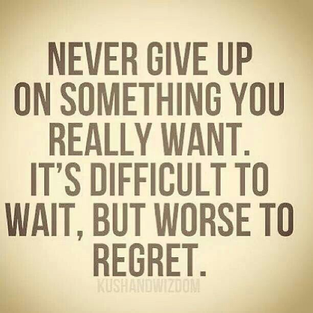 I Never Give Up Quotes. QuotesGram