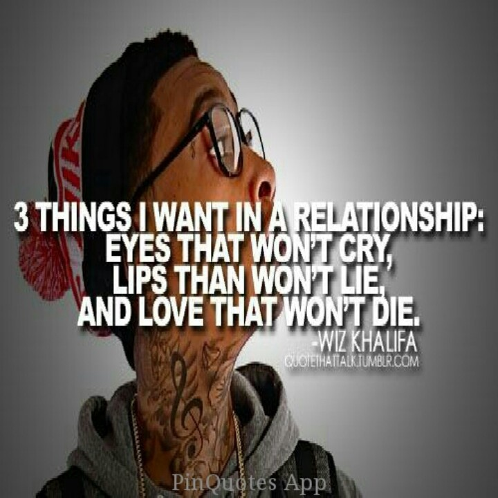 wiz khalifa quotes about relationships quotesgram