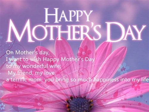 Wifes Saying On Mothers Day Sayings: Husband Quotes From Mother Day Card. QuotesGram