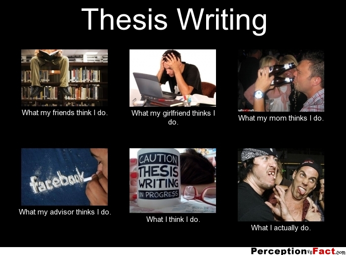 thesis writing tips science
