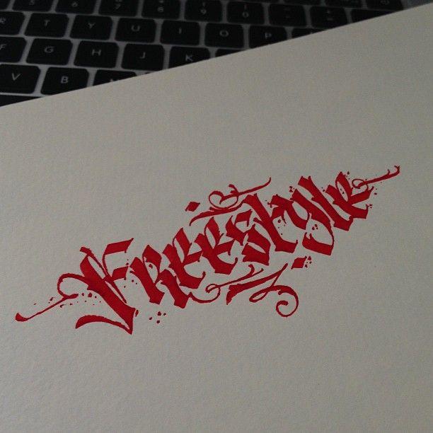 I Love You Graffiti Letters
