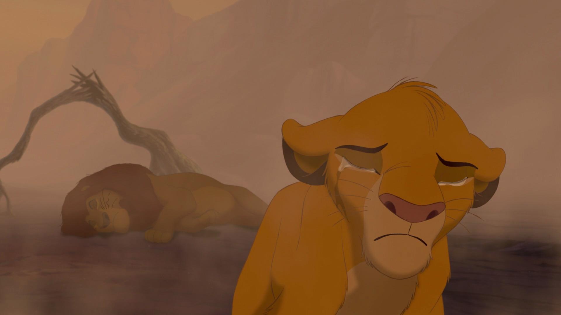 король лев картинки смерти муфасы