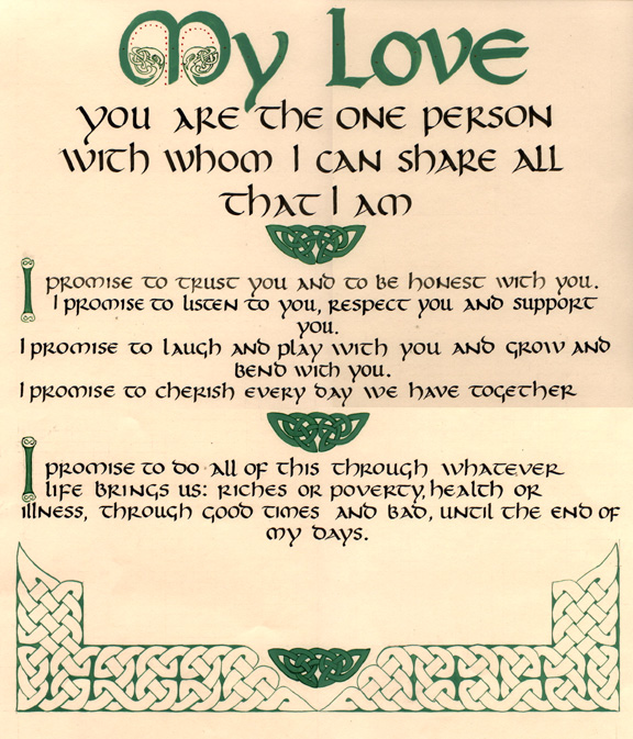 Irish Wedding Quotes: Irish Love And Marriage Quotes. QuotesGram