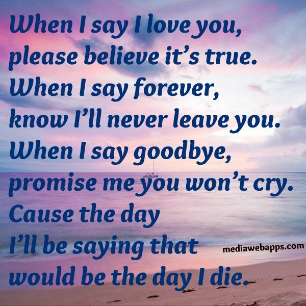 Love my poem forever Love Poem