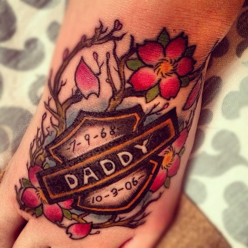 50 Father Daughter Tattoos Every Daddy S Girl Needs: Daddys Girl Motocross Quotes. QuotesGram