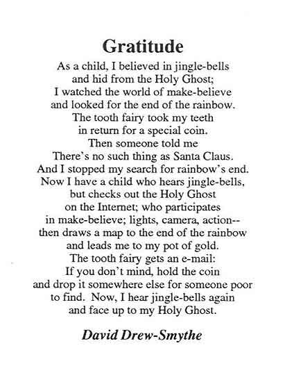 gratitude quotes and poems quotesgram