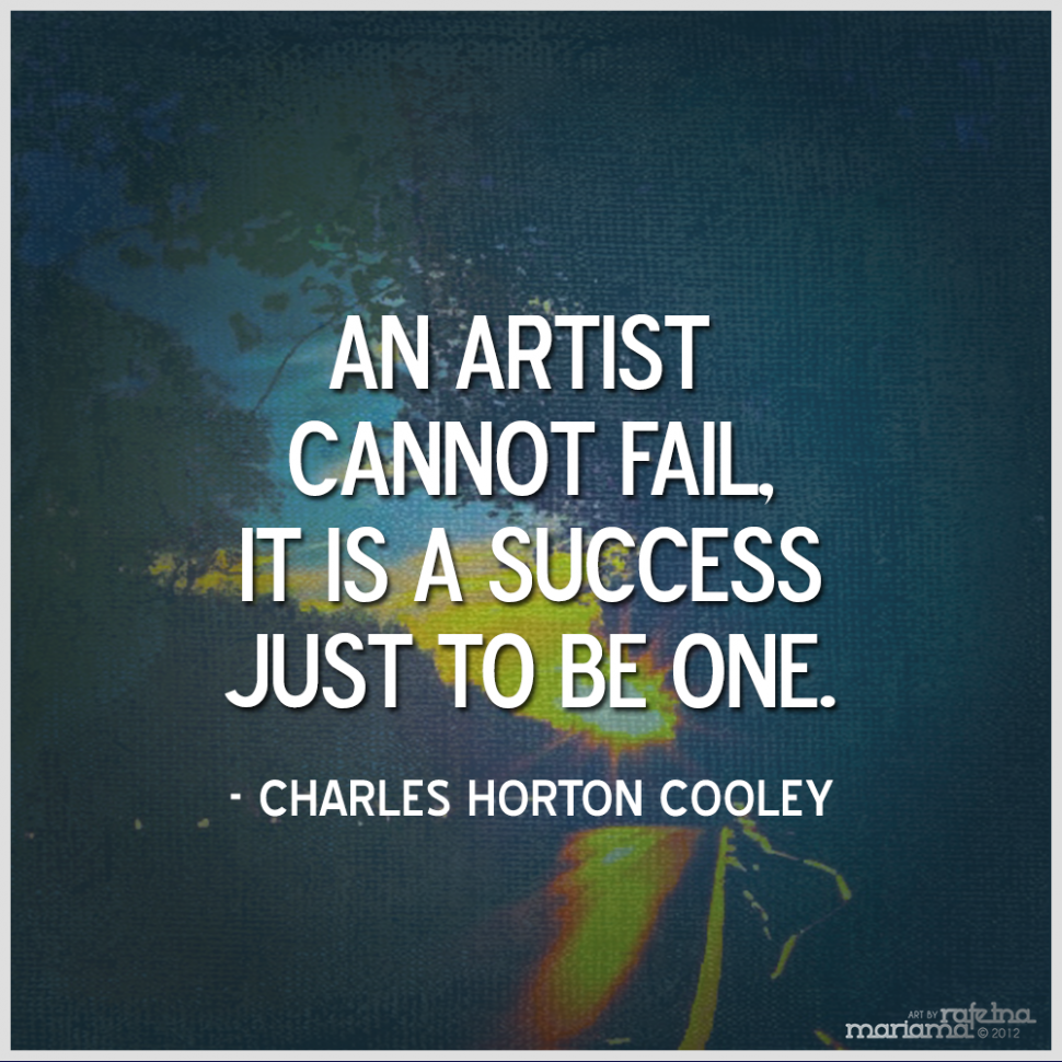 inspirational quotes by famous artists quotesgram