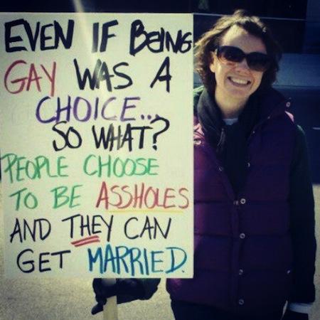 gay people Against marriage