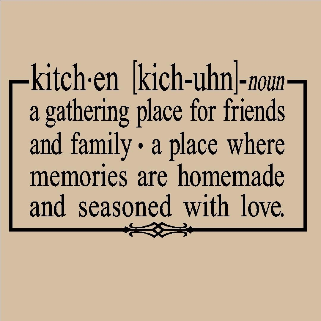 Kitchen Remodel Quotes: Kitchen Wall Quotes And Sayings. QuotesGram