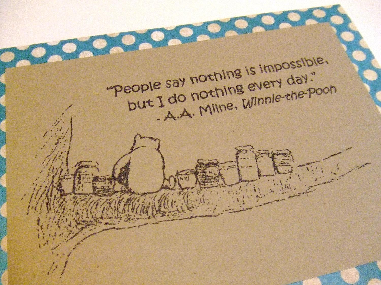 winnie the pooh essays