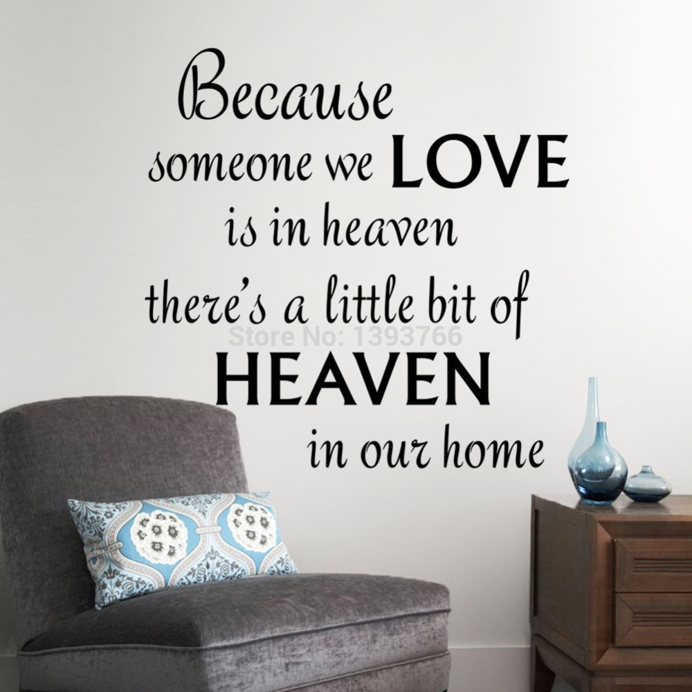 Quote Wall Decals For Living Room : Living room wall decals quotes quotesgram