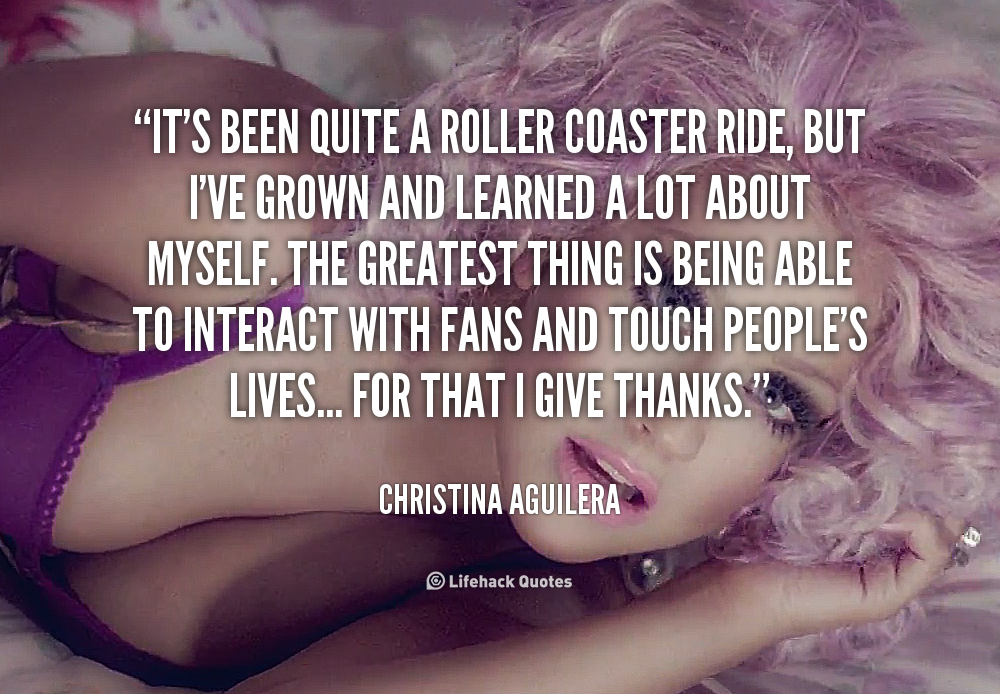 Life Is A Roller Coaster Quotes. QuotesGram