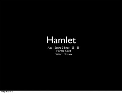 an argument on the sanity of hamlet Hamlet by william shakespeare is full of themes one of these themes is appearance vs this is shown by the argument between hamlet's sanity and insanity there are two different ways to look at shakespeare's meaning one way critics determine hamlet's state of mind is sanity hamlet acts like he's crazy, but he really isn't.