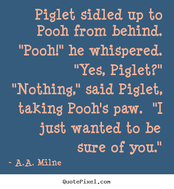 a a milne quotes about friendship quotesgram