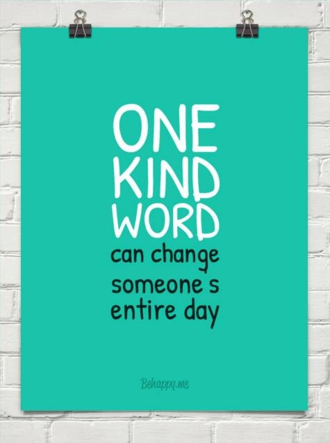 Show kindness quotes