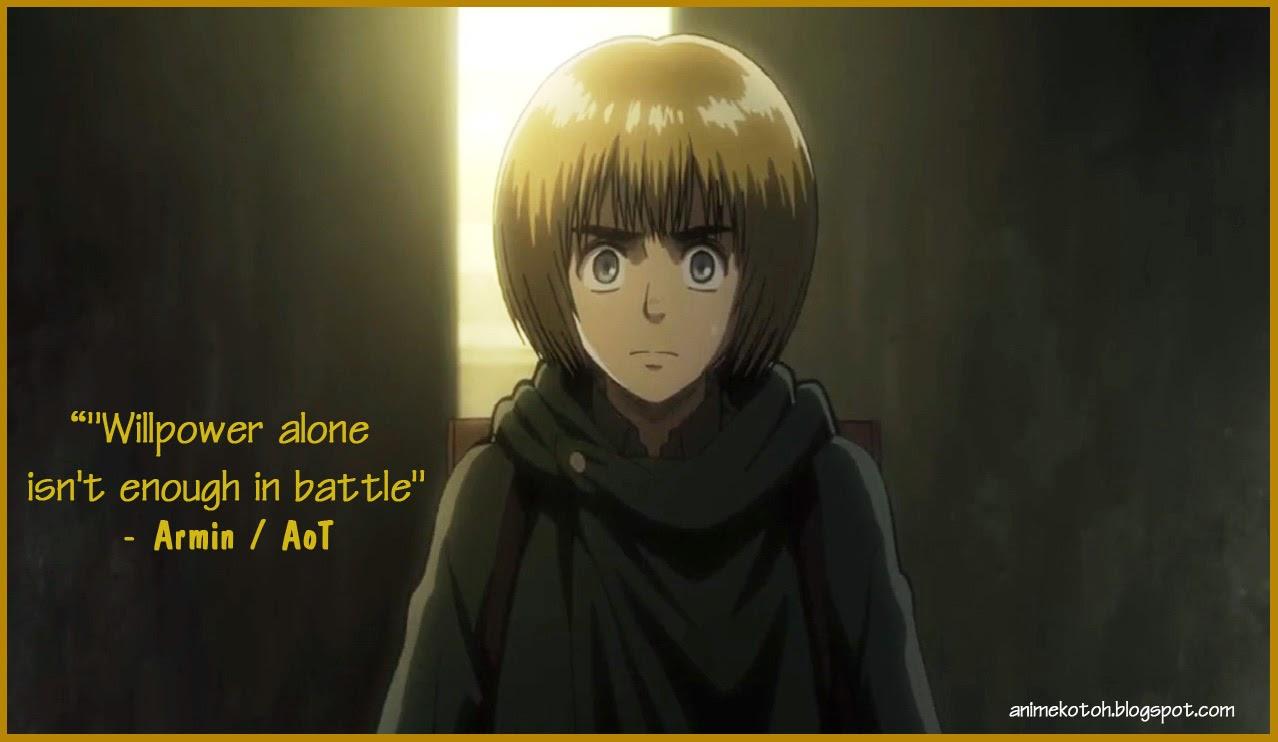 Attack On Titan Armin Quotes Quotesgram
