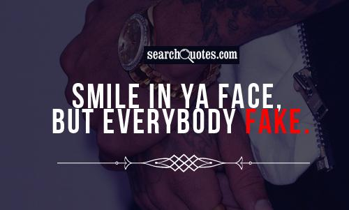 Put On A Fake Smile Quotes. QuotesGram