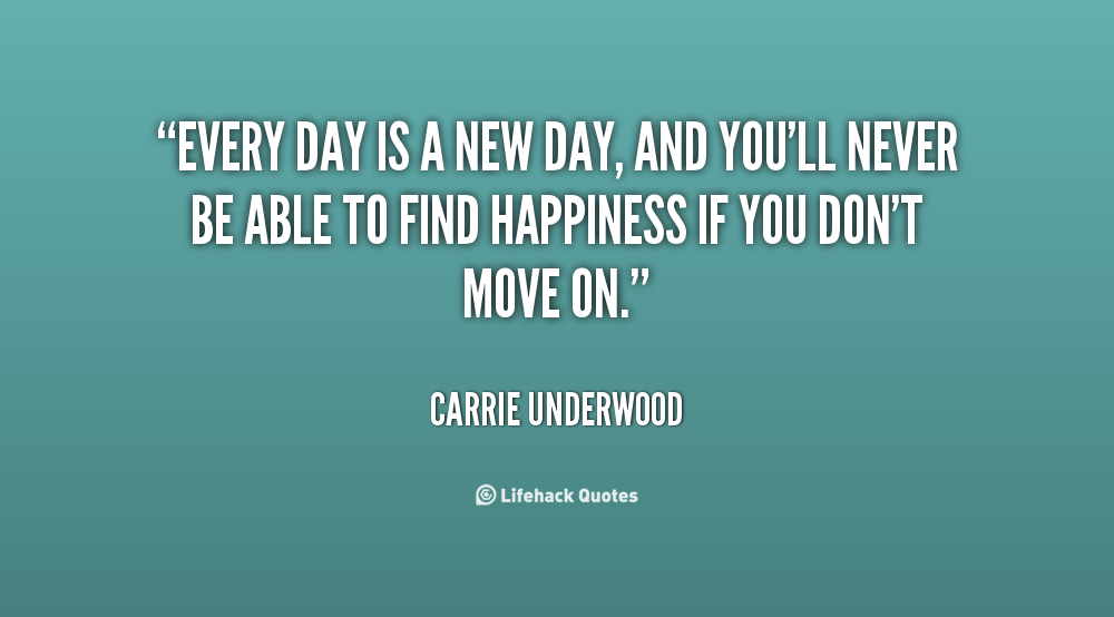 Brand New Day Quotes: Everyday Is A New Day Quotes. QuotesGram