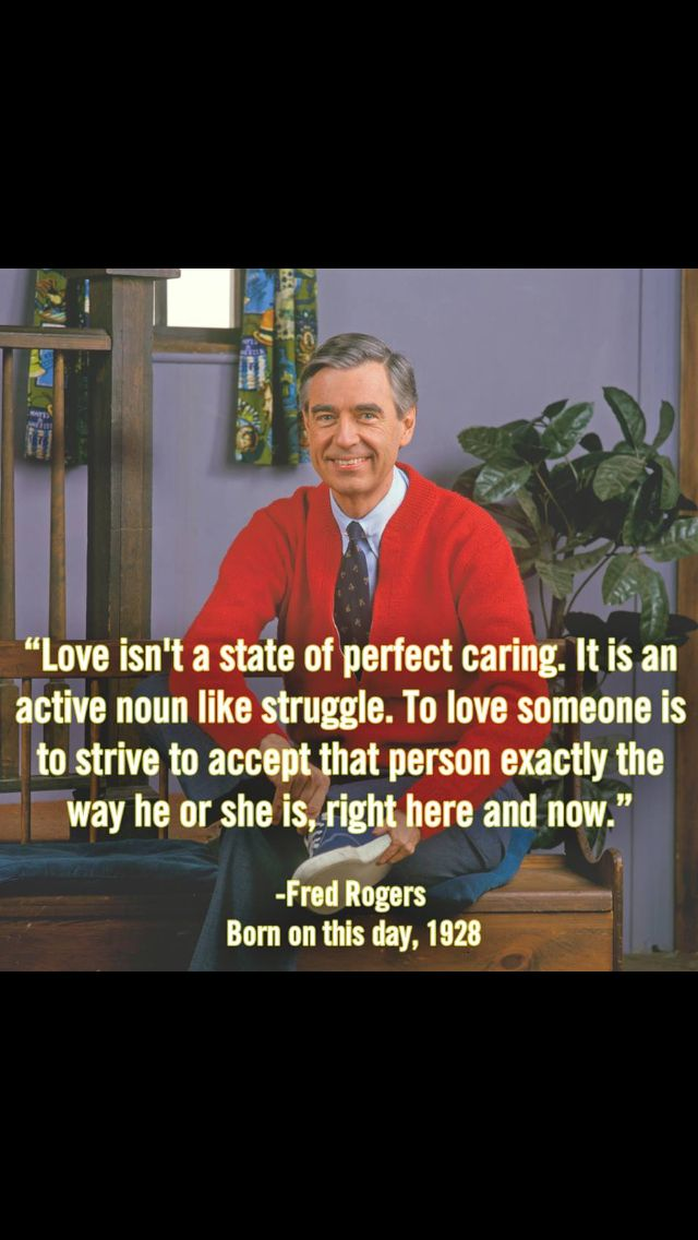 Mr Rogers Quotes About Life Quotesgram