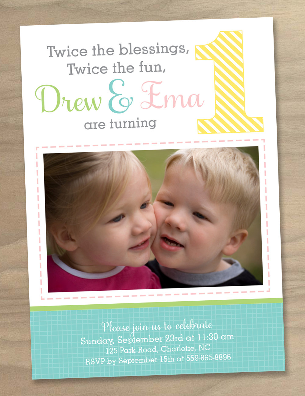The Top 25 Ideas About Twin Birthday Invitations Birthday