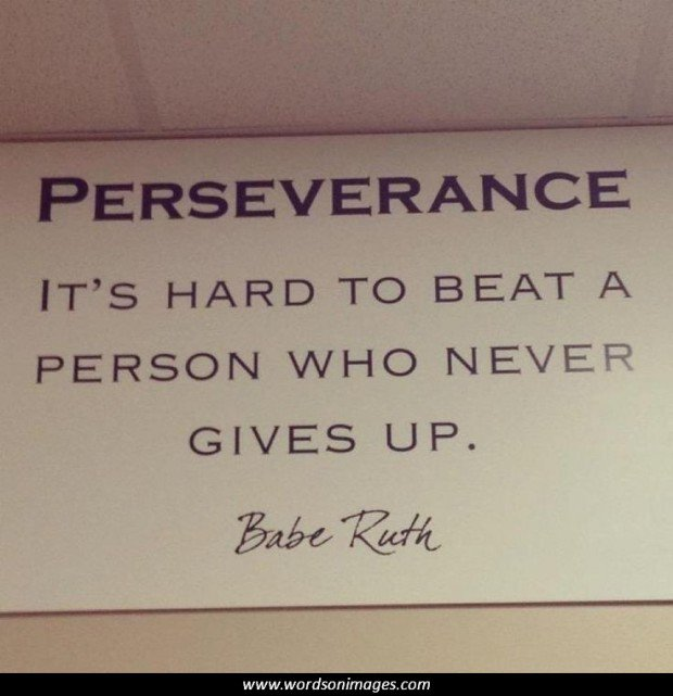 Quotations About Persistence: Famous Perseverance Quotes. QuotesGram