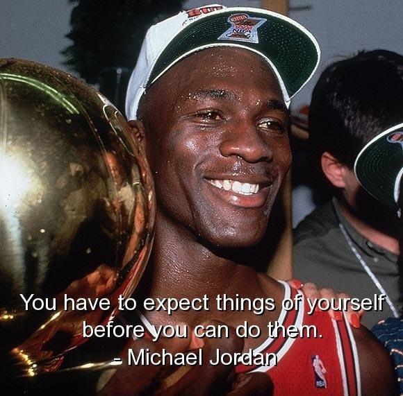 Michael Jordan Motivational Quotes About Life