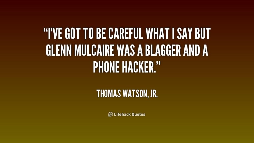 Thomas Watson Jr Quotes: Thomas Watson Quotes. QuotesGram
