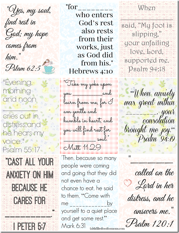 Breathtaking image with regard to bible verse cards printable