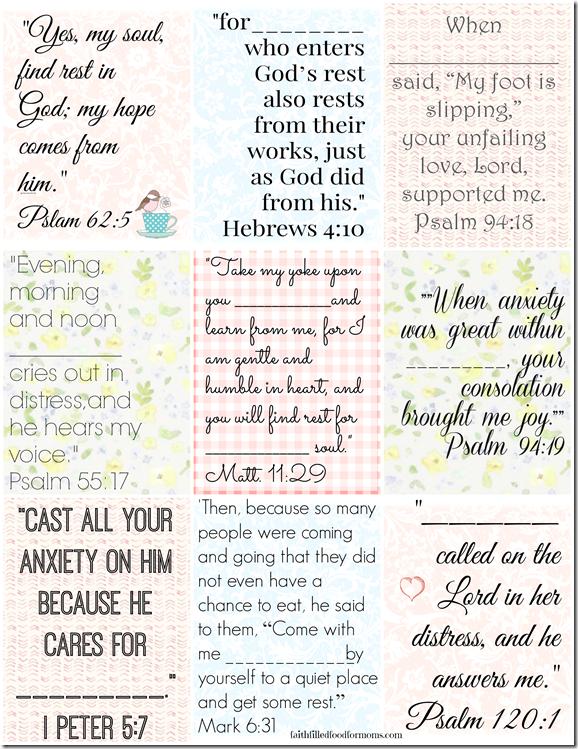 Irresistible image pertaining to bible verse cards printable