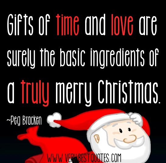 Quotes About Christmas Gifts: Love Quotes At Christmas Time. QuotesGram