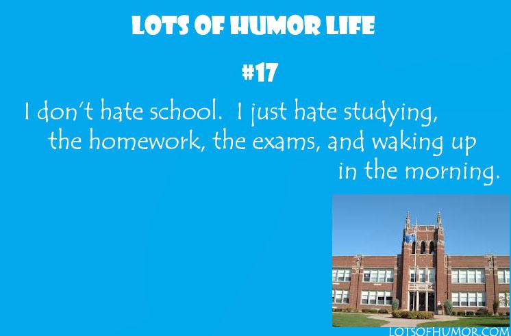 I Hate School Quotes Funny. QuotesGram - 85.8KB