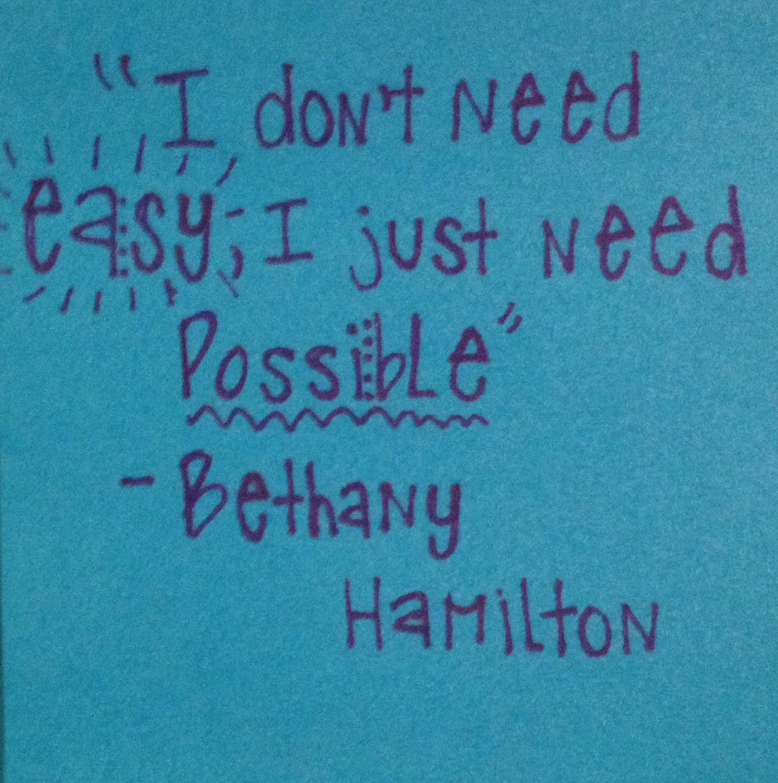 Bethany Hamilton Quotes: Hamilton Quotes. QuotesGram