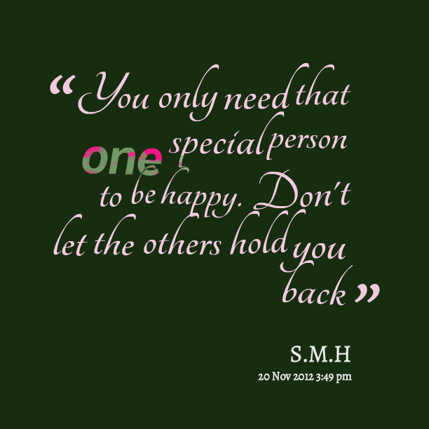 When That One Person Quotes: Quotes About A Special Person. QuotesGram