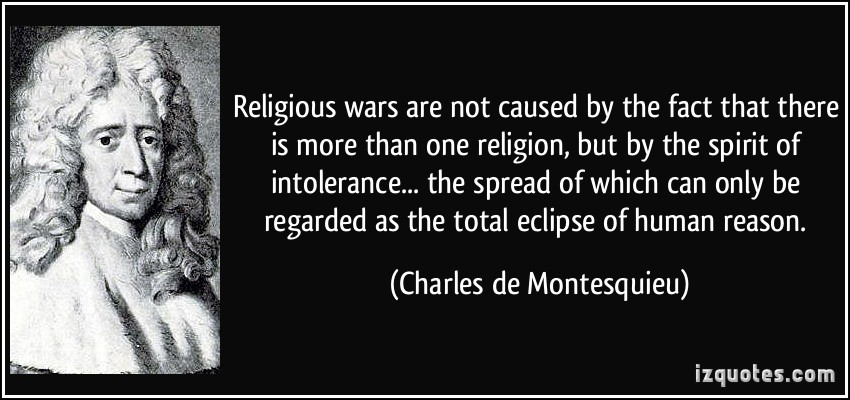 religion and war what causes people