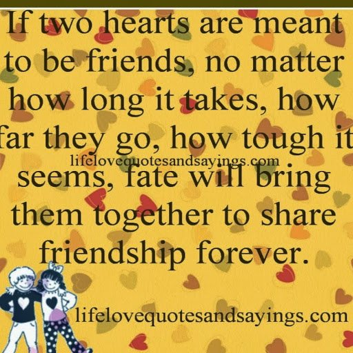 Cute Long Distance Friendship Quotes QuotesGram