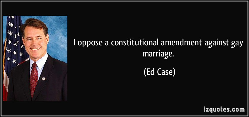 from Ian gay marriage amendment 2005