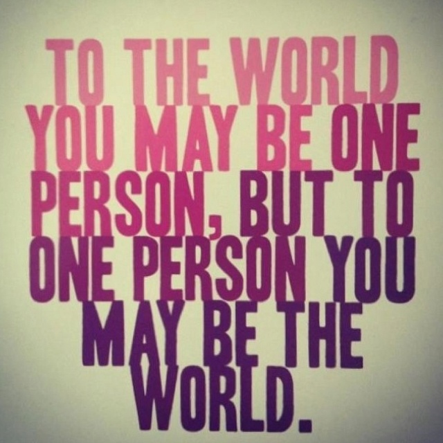You Mean The World Quotes. QuotesGram