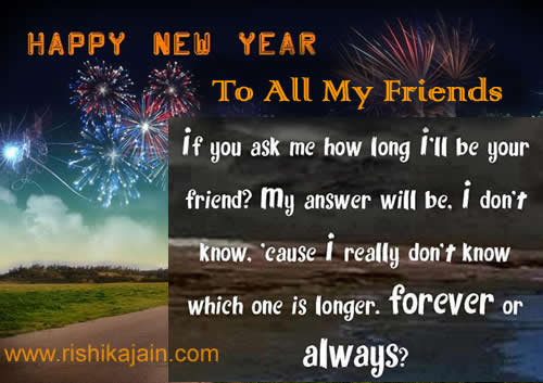 Friendship Quotes New Year. QuotesGram