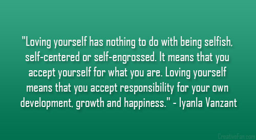 Quotes About Being Self Centered. QuotesGram