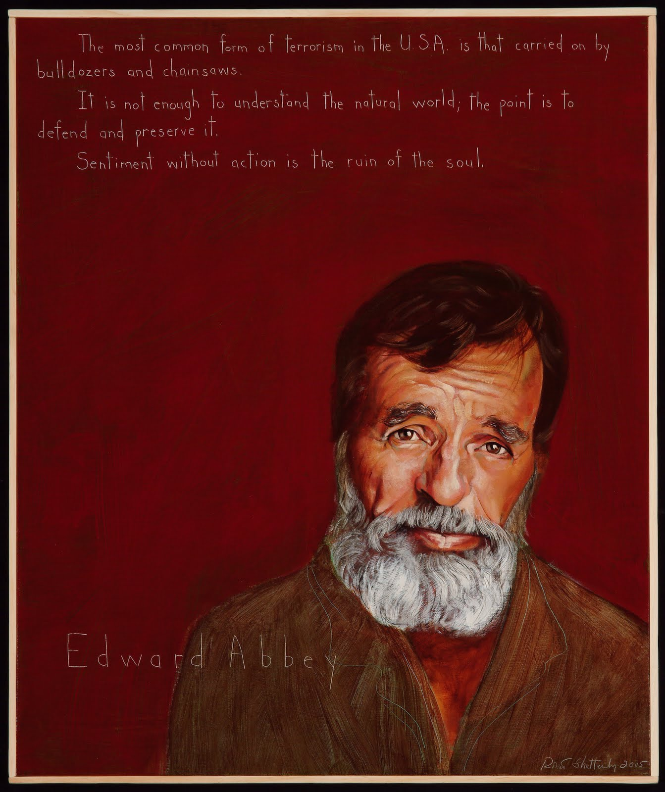Quotes About Anger And Rage: Edward Abbey Quotes. QuotesGram