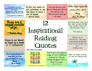 Inspirational Quotes About Books Reading Quotesgram