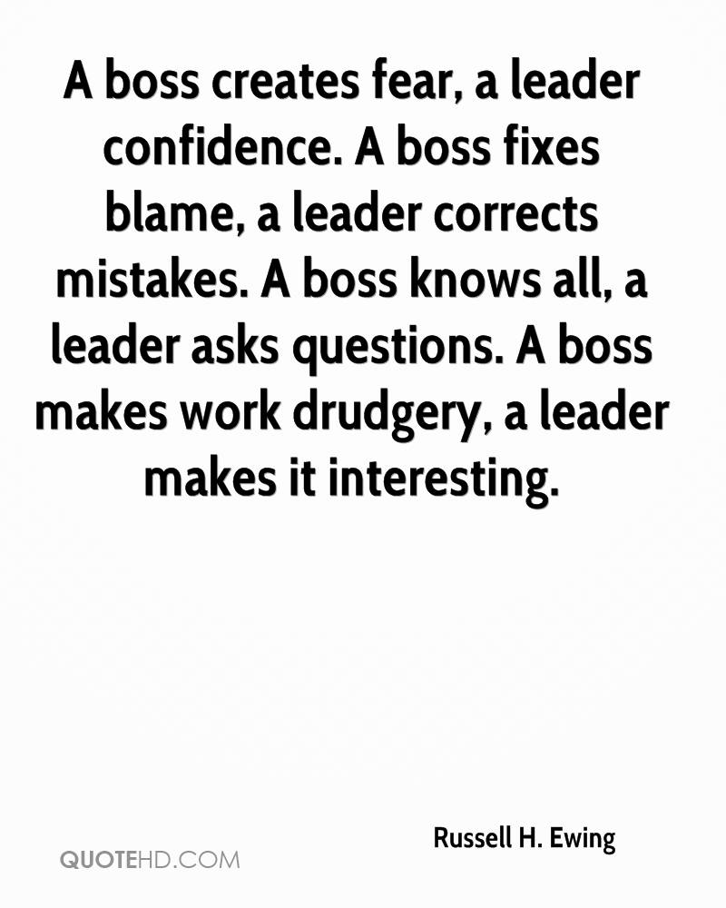 Boss Quotes: Bad Boss Quotes Intimidation. QuotesGram