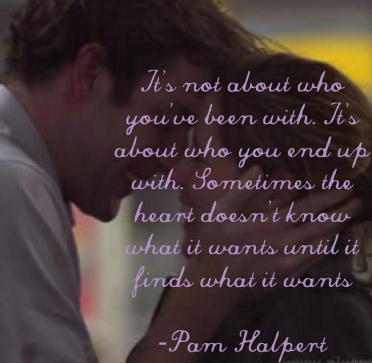 Love Finds You Quote: Jim And Pam Best Love Quotes. QuotesGram
