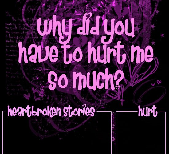 Short Quotes Hurt Feelings: U Hurt My Feelings Quotes. QuotesGram